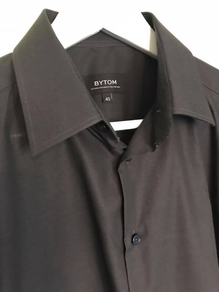 Czarna Koszula Bytom rozmiar 40 7337195402 oficjalne