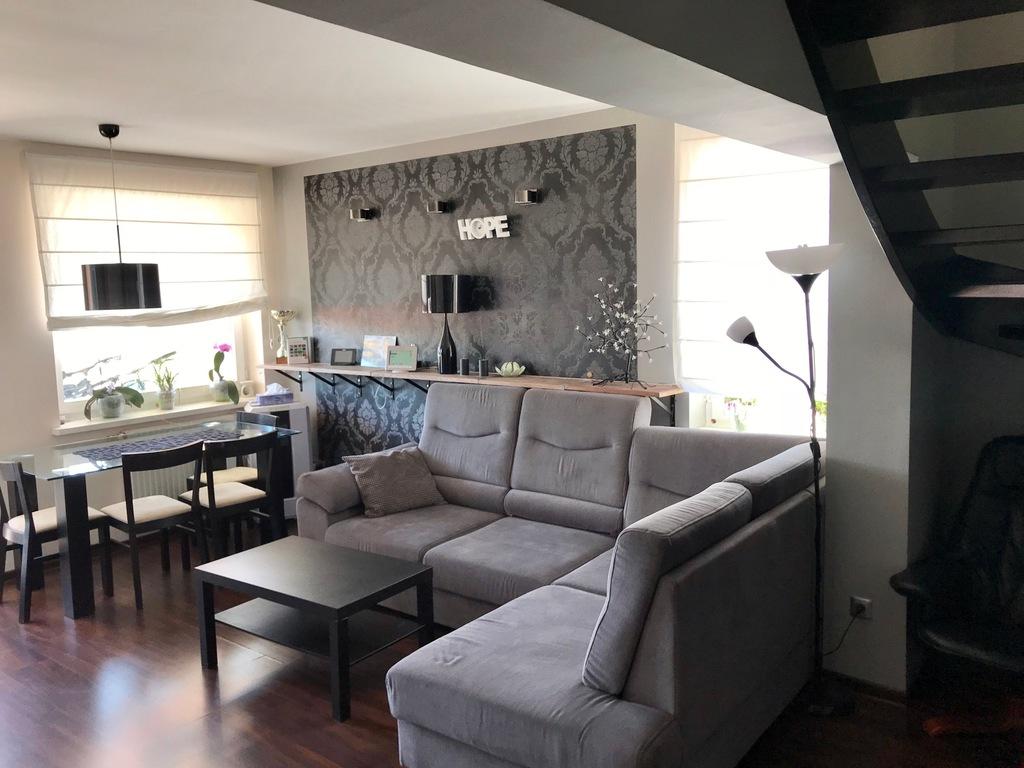 Mieszkanie 74m2 dwupoziomowe z garażem Leszno