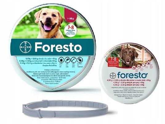 Obroza Foresto 70 Cm Pchly Kleszcze 7455637705 Oficjalne Archiwum Allegro