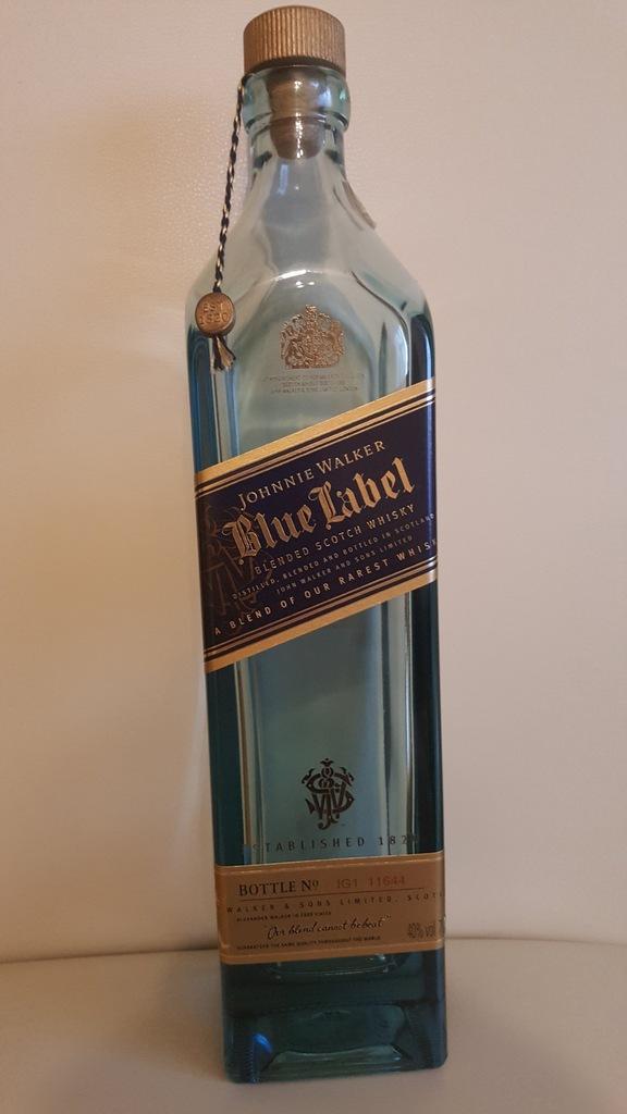 Karafka Pusta Butelka Po Johnnie Walker Blue Label 7069650362 Oficjalne Archiwum Allegro