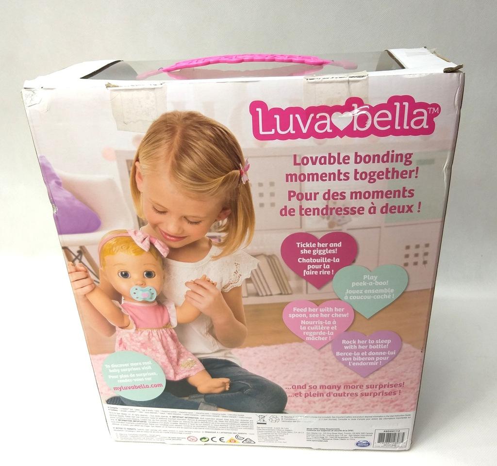 Lalka Interaktywna Baby Luvabella Blonde L76 - 7708023130 ...