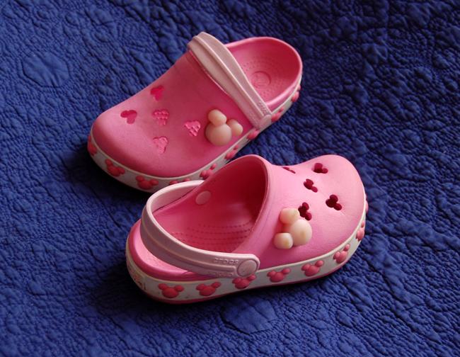 klapki buty sportowe sandały CROCS C8-9 25,5