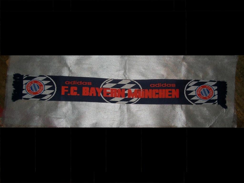 Adidas, Szal kibica, FC Bayern SCARF DY7684, biały