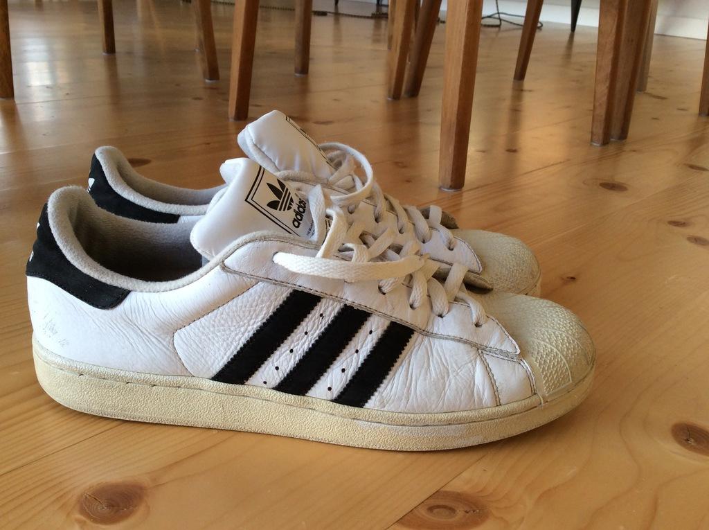 Używane buty Adidas Superstar White SNEAKERS 46,5