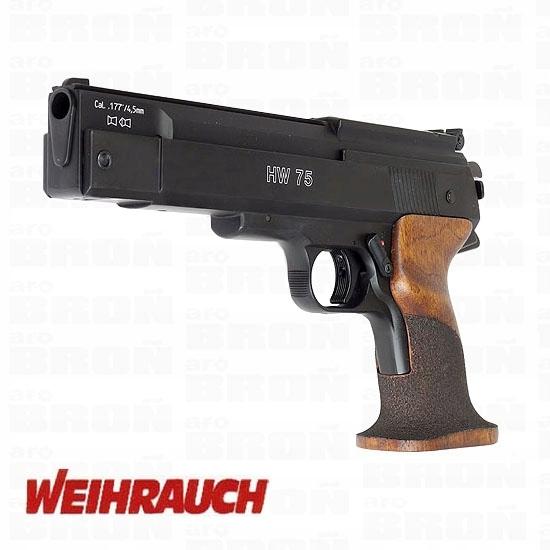 Pistolet wiatrówka WEIHRAUCH HW-75 4,5mm-OKAZJA!