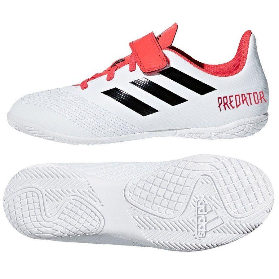buty piłkarskie adidas halówki predator z białą podeszwą