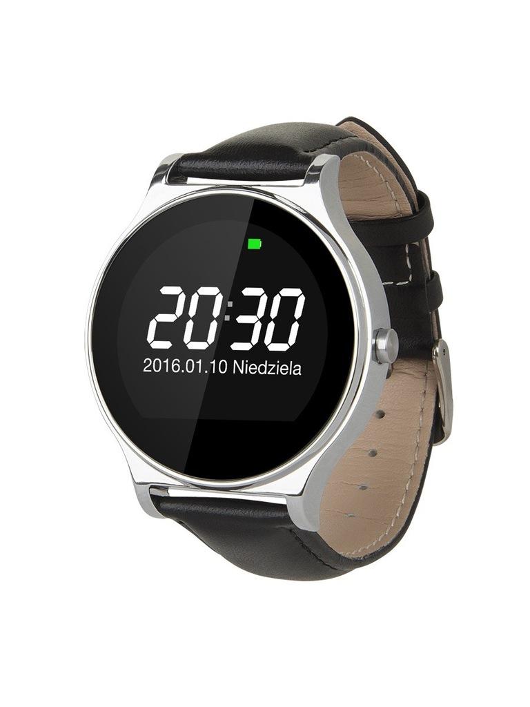 KRUGER & MATZ  Smartwatch STYLE CZARNY