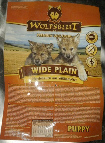 Wolfsblut Dog Wide Plain Puppy konina i bataty 2kg