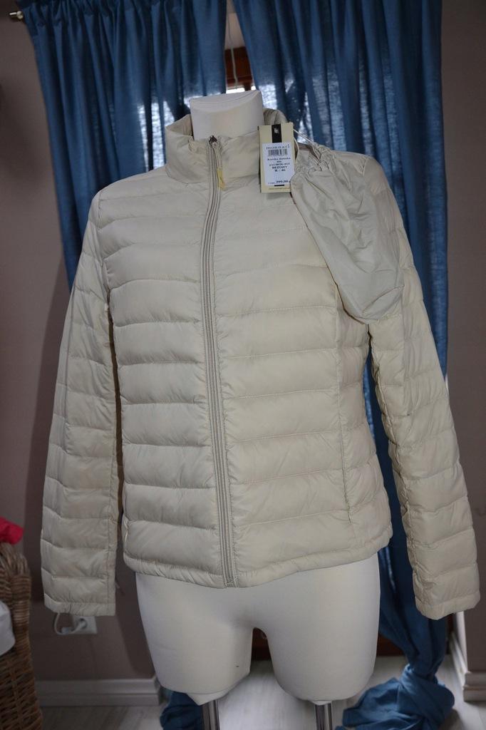 kurtka pikowana monnari beżowa