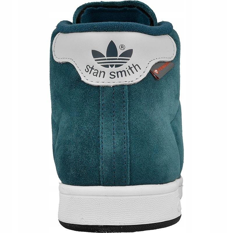 Niebieskie Zamszowe Buty Adidas Originals r.41 13