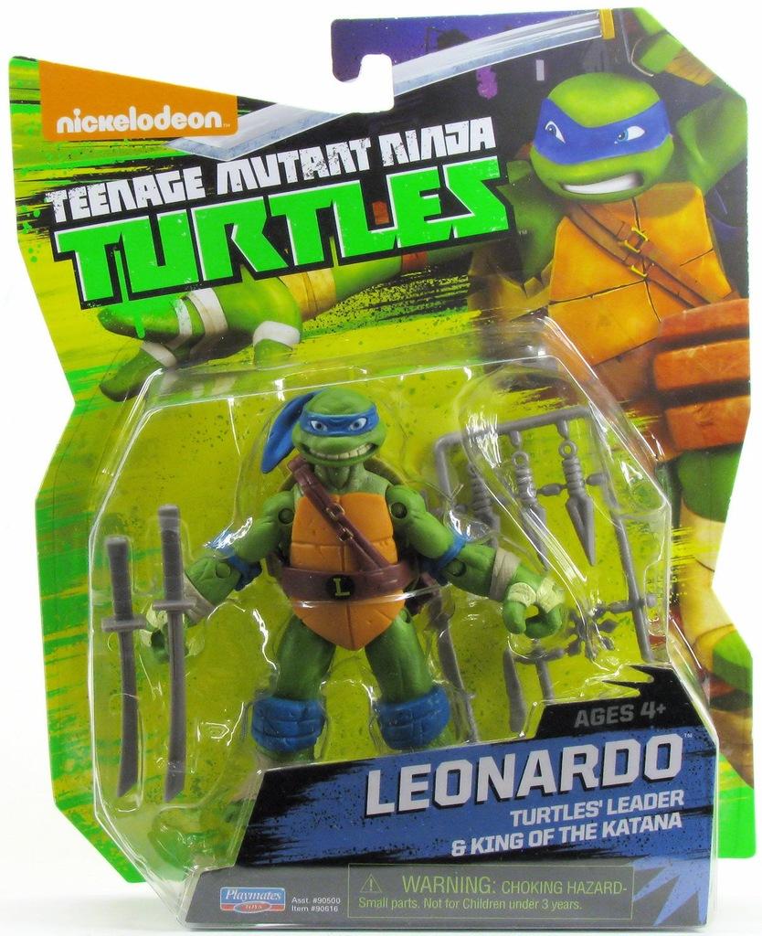 Figurka Turtles Zolw Ninja Leonardo Nickelodeon 7332802152 Oficjalne Archiwum Allegro