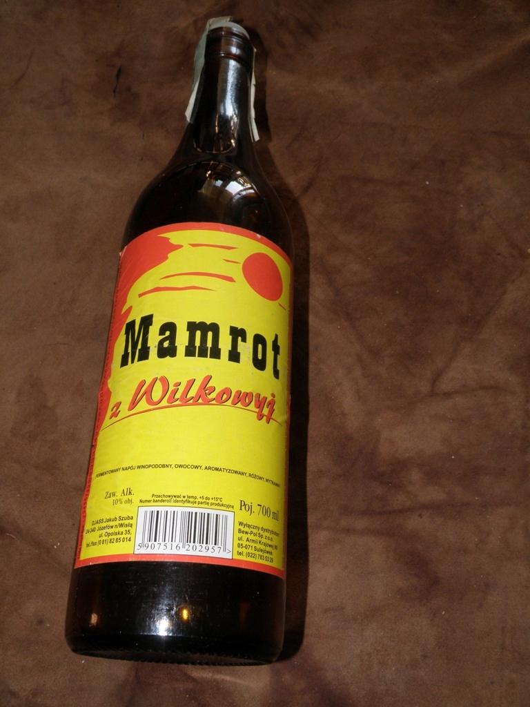 Butelka Po Winie Mamrot Z Wilkowyj Poj 700 Ml 7668173660 Oficjalne Archiwum Allegro