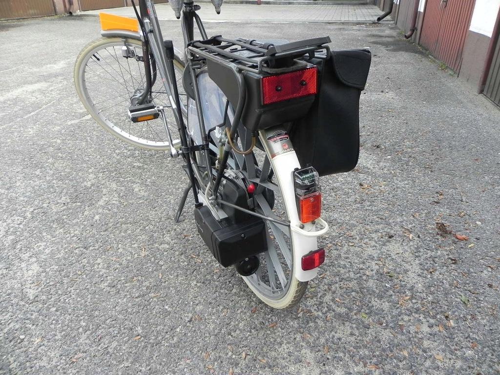 Rower z silnikiem spal.Sachs-Sparta stan idealny