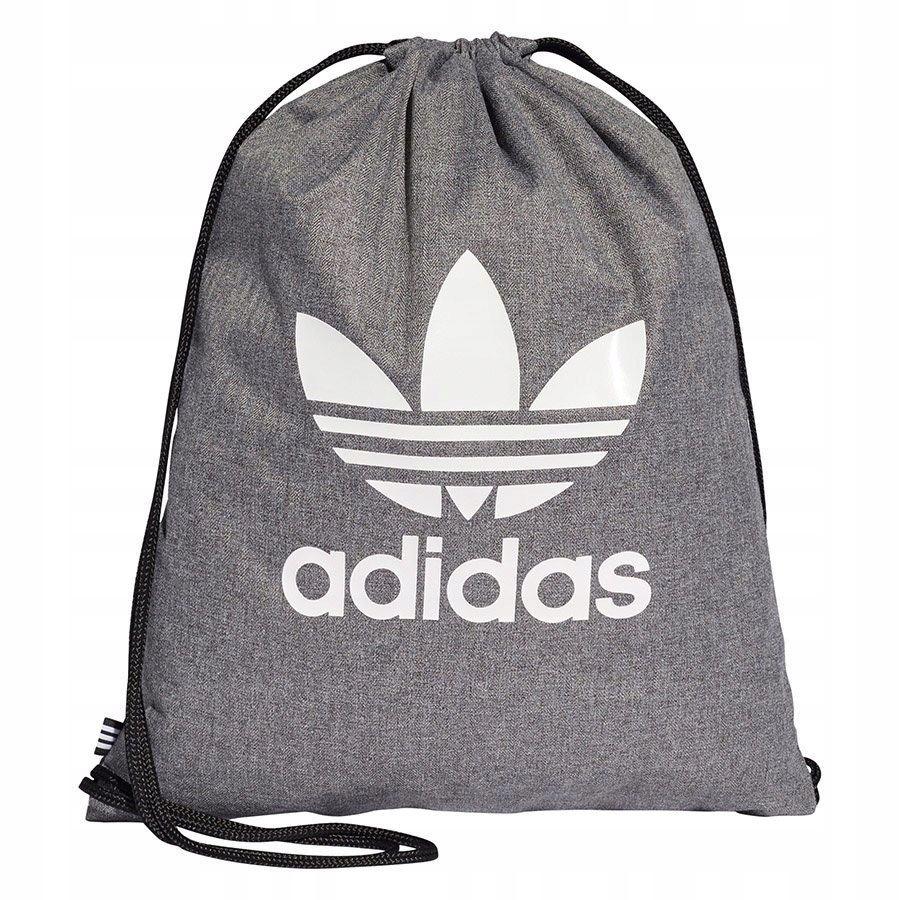 Plecak Worek adidas MELANŻ DUŻE LOGO szary