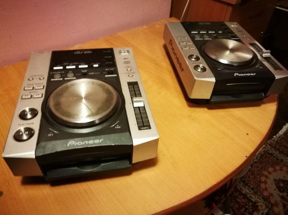 Pioneer cdj 200 2 sztuki 3 gratis