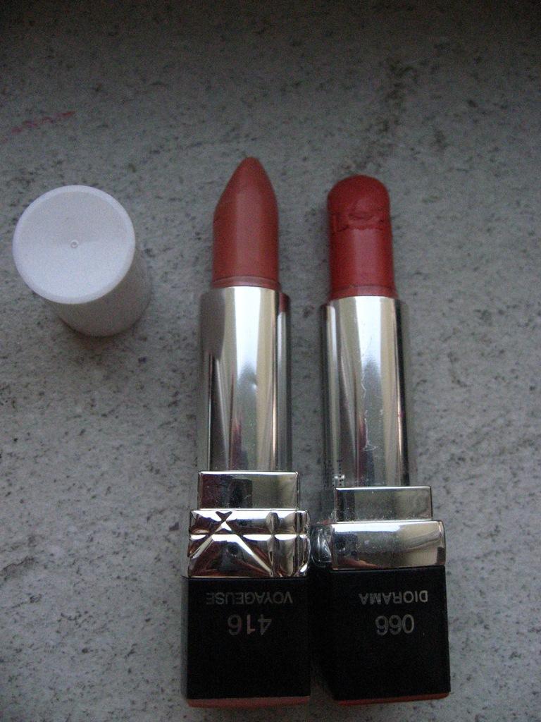 Pomadka Dior 416 + Dior 066 - zestaw