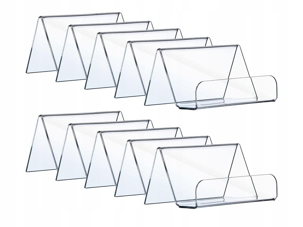 10 PAKIET WIZYTOWNIK 90x50 POZIOM 10szt PLEXI