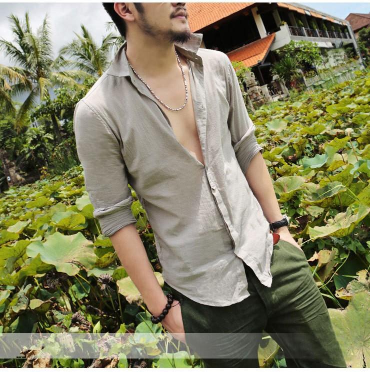 Przewiewna męska koszula na lato bawełniana XXL 6842802720