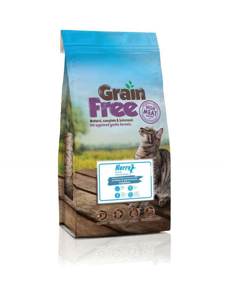 NERRO grain free świeżo przygotowany indyk 2kg
