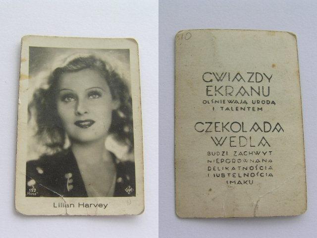 Aktorka Lilian Harvey Gwiazdy Ekranu Wedel Reklama 7310845088 Oficjalne Archiwum Allegro