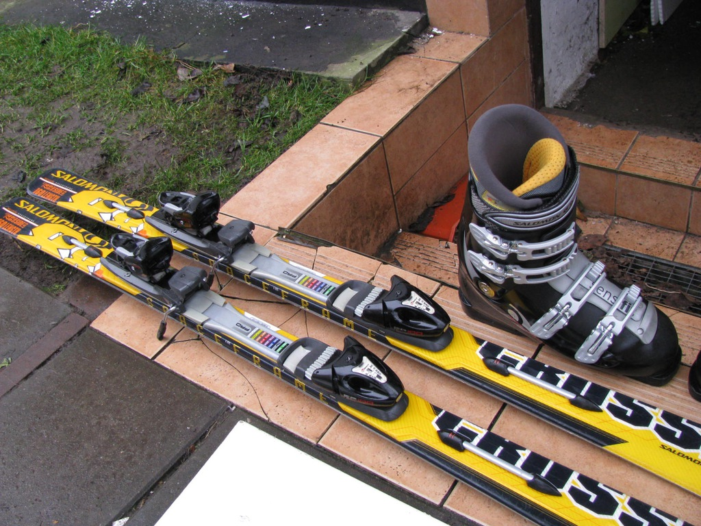 SALOMON 160cm + BUTY SALOMON 43 44 ŁADNE WROCŁAW