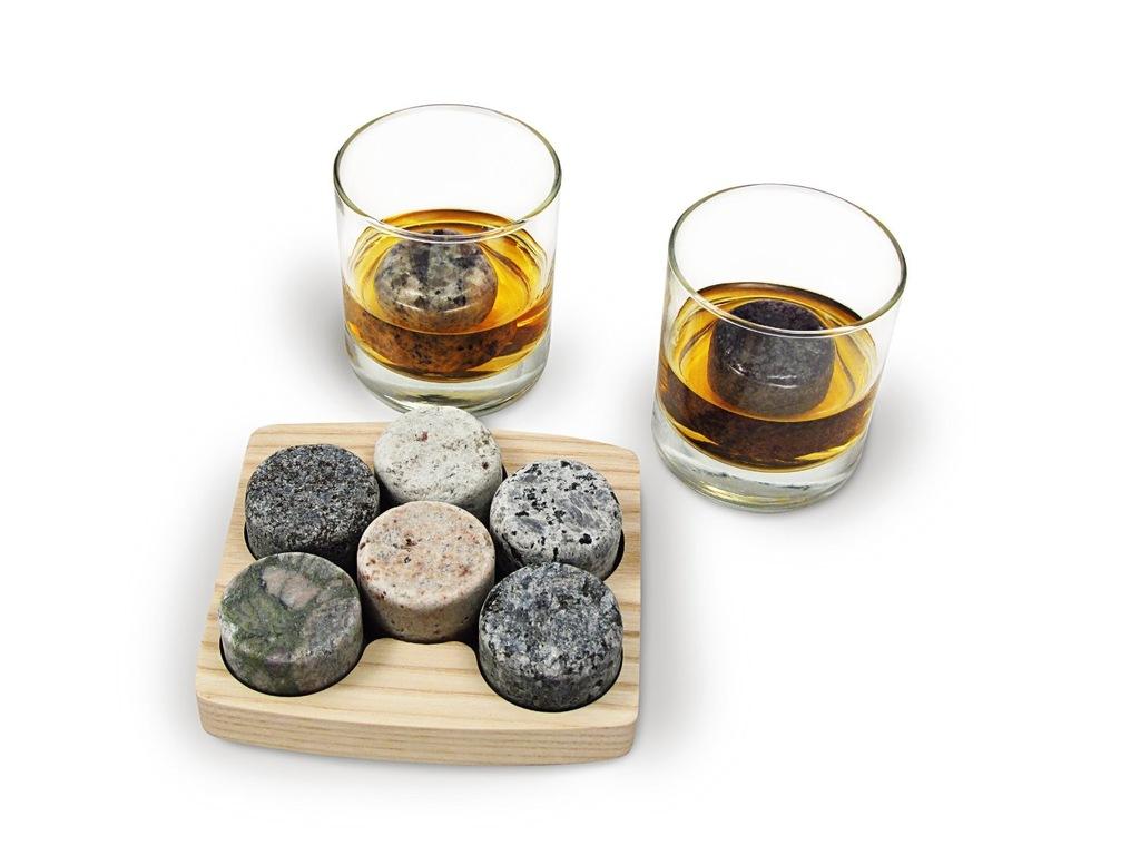 Whisky Stones Kamienie Lodowe 9 Szt W Woreczku Steatyt Whiskey
