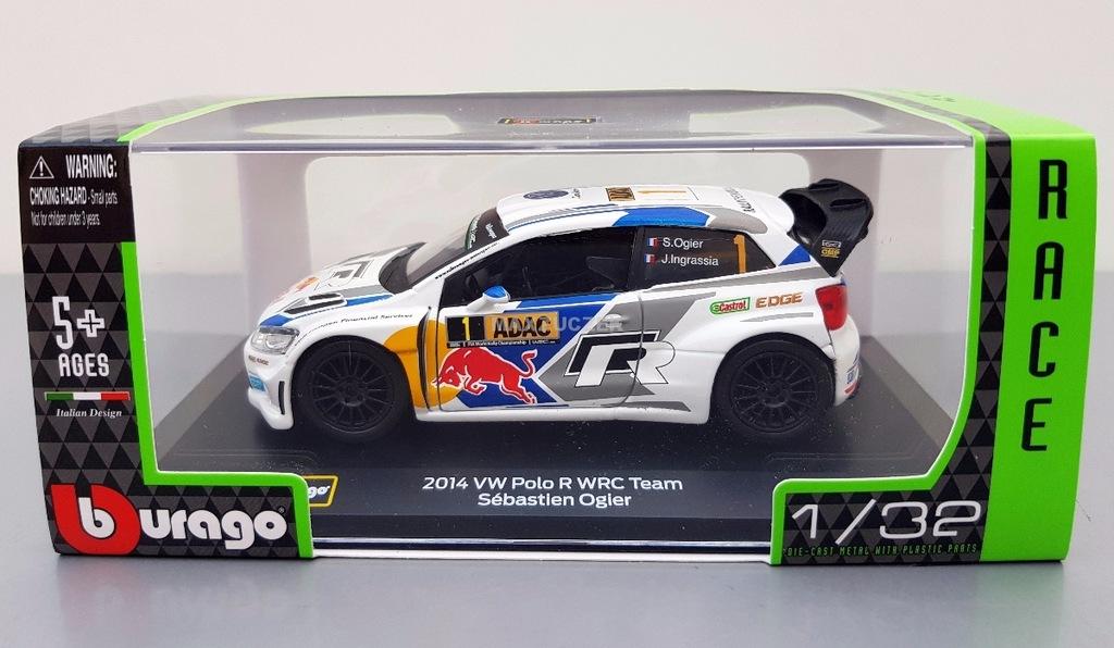 Bburago Rally Race 1 32 Vw Polo R Wrc 7432157535 Oficjalne Archiwum Allegro