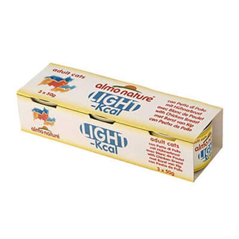 ALMO NATURE Light Filet kurczaka puszka 2x(3x50g)