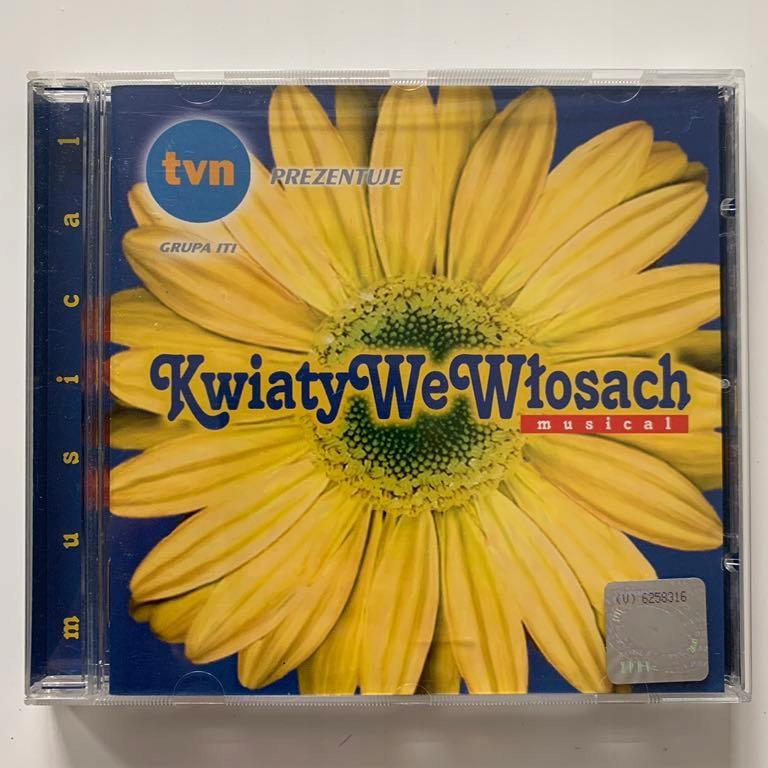 Cd Kwiaty We Wlosach Musical 7741109475 Oficjalne Archiwum Allegro