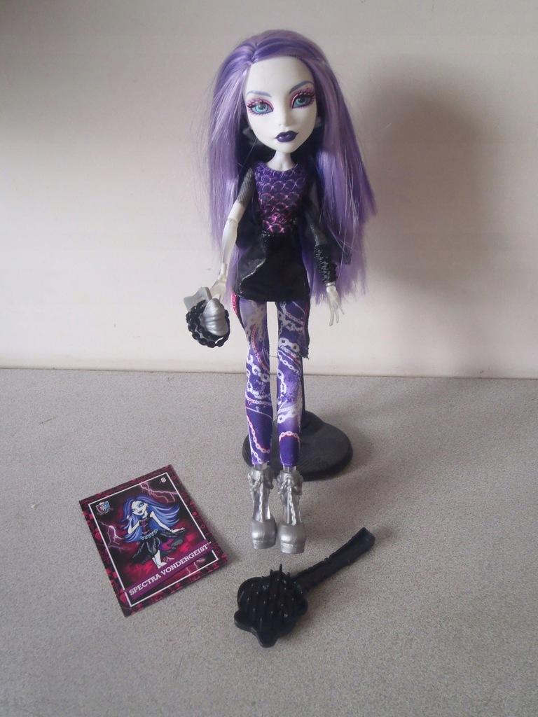 Lalka Monster High Spectra Vondergeist 7556602951 Oficjalne Archiwum Allegro