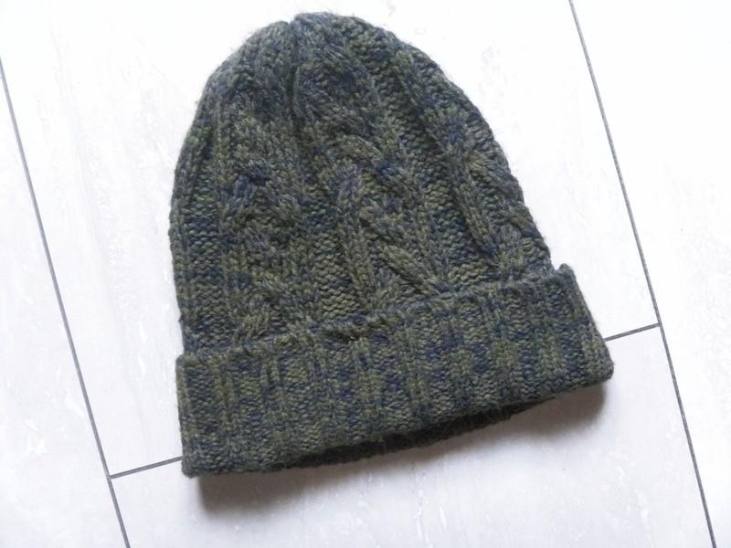 Ciepła zimowa czapka melanż TkMaxx