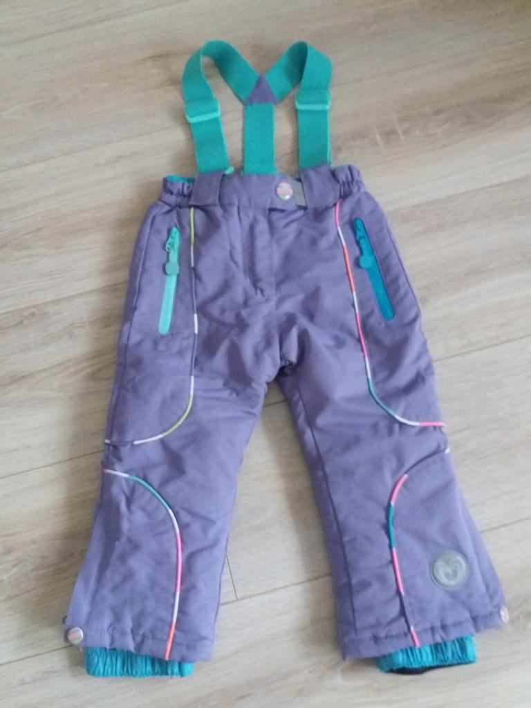 Cool Club Smyk spodnie narciarskie fioletowe 92