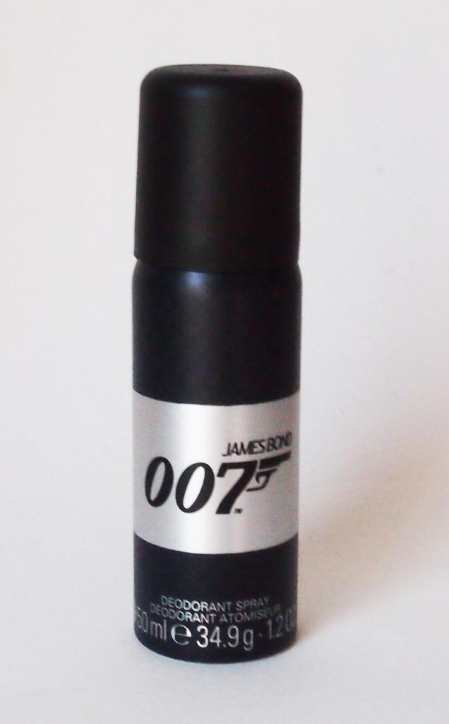 James Bond 50 ml czarna KLASYKA dezodorant
