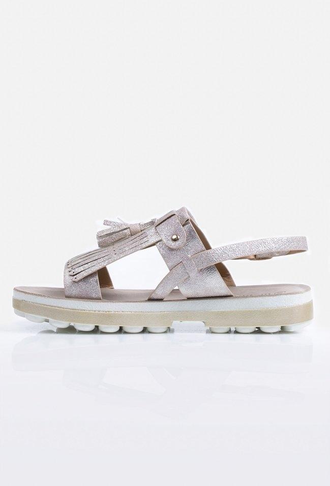 Sandały damskie z połyskiem MONNARI rozmiar 39