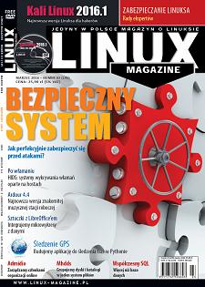 Linux Magazine 3/2016: Bezpieczeństwo Kali 2016.1
