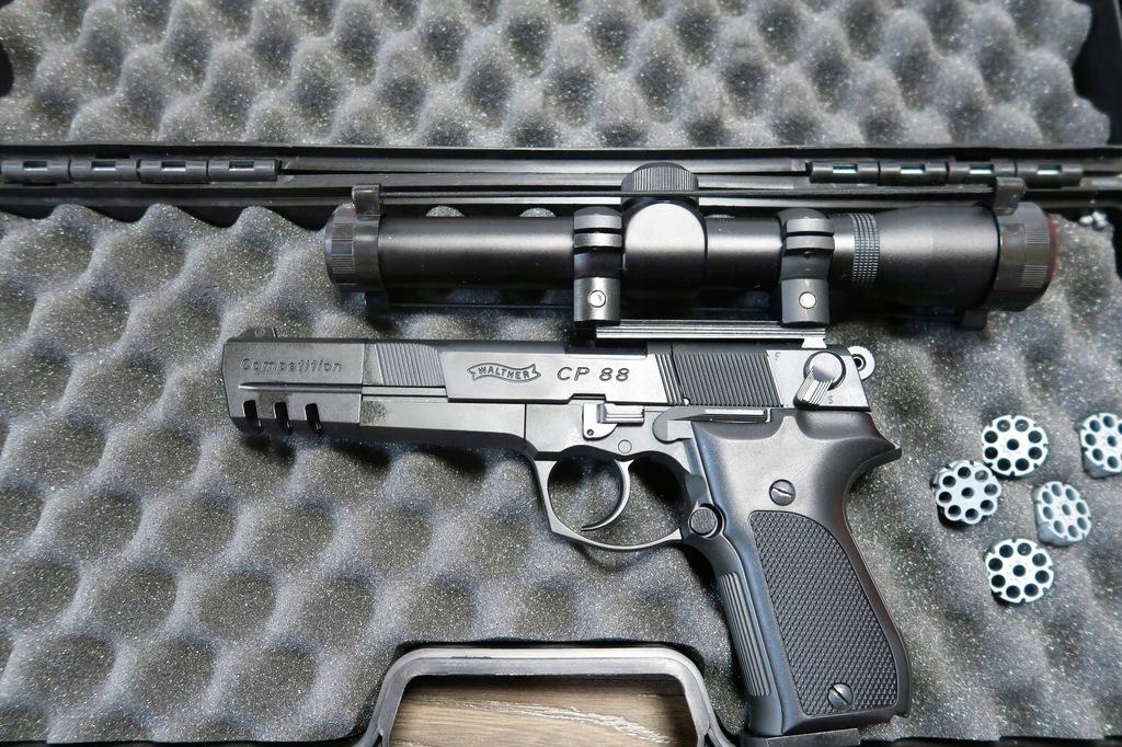 WaltherCp88 Komp.-wiatrówka+luneta++