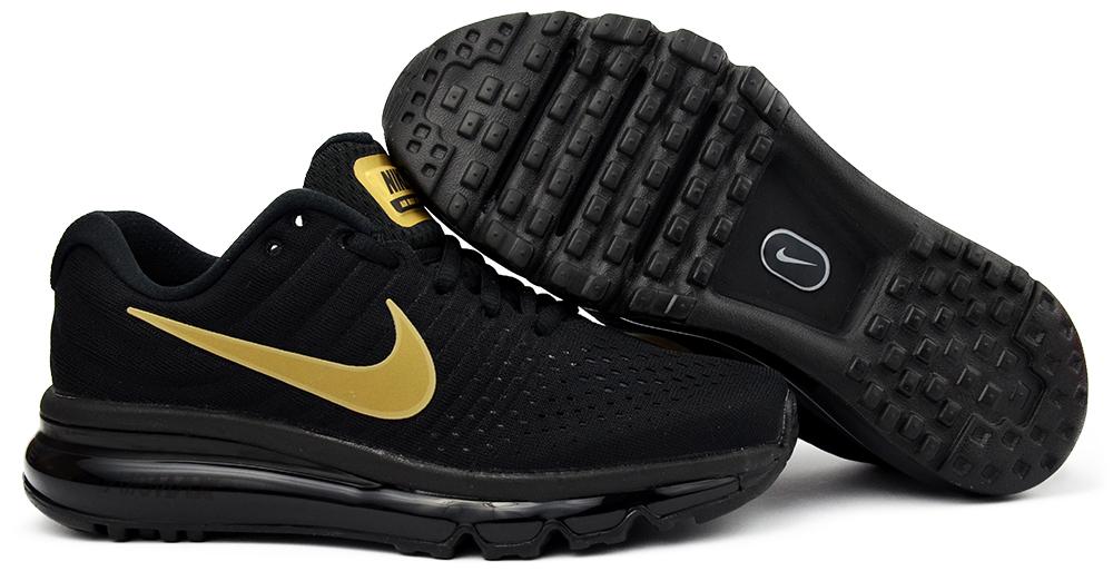 Buty Nike Air Max 2017 (GS) r.37,5 czarno złote 7015111930