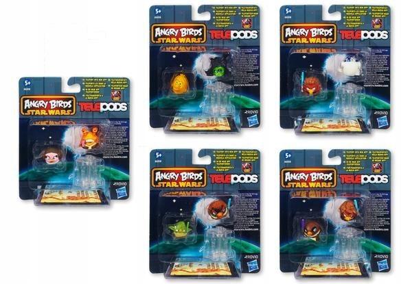 2 X Figurka Angry Birds Star Wars Telepods Wybor 7357497077 Oficjalne Archiwum Allegro