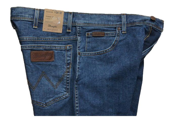 Spodnie jeans WRANGLER TEXAS W12133010 W38L30