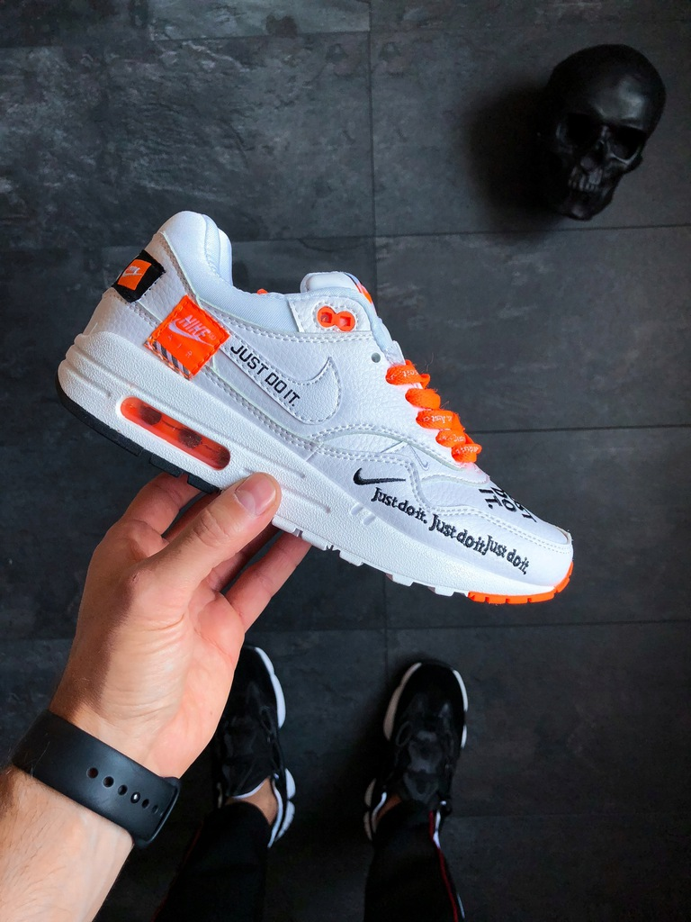 "Nike Air Max 1 SE LX ""Just Do It"" White r40"