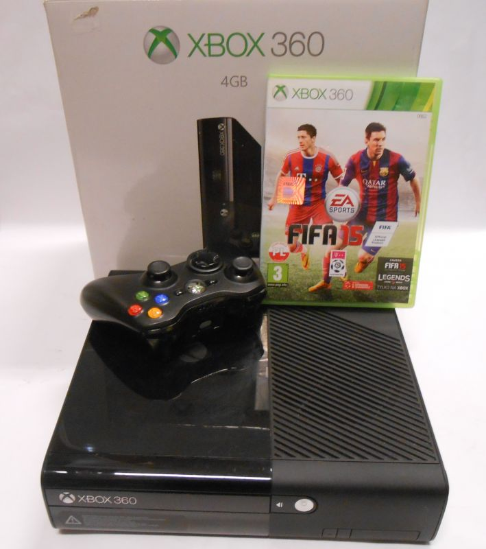 Konsola Xbox 360 1 Pad Fifa 15 Kable 7197225518 Oficjalne Archiwum Allegro