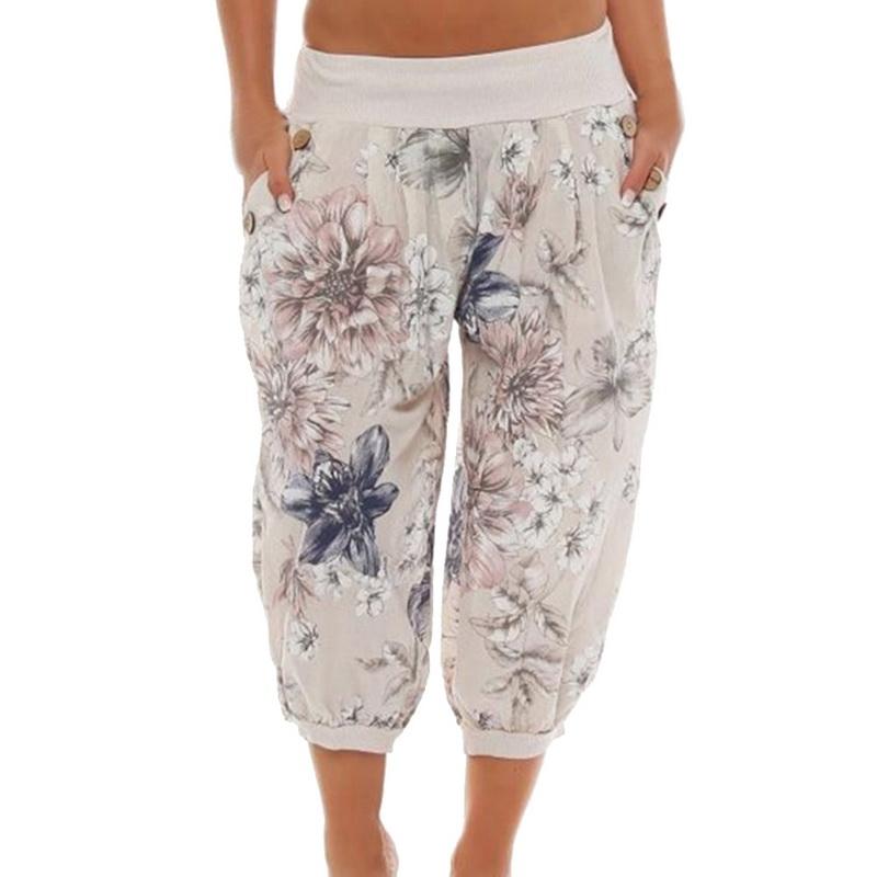 Spodnie damskie luźne nogawka 34 do tańca jogi XL
