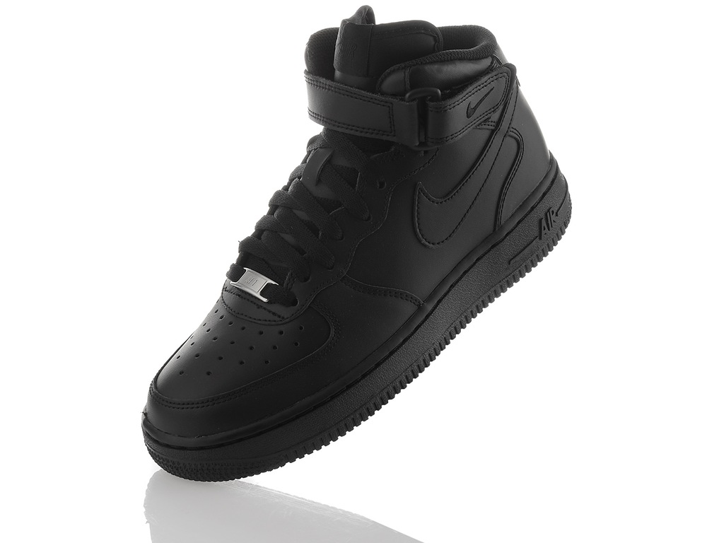 Nike buty damskie Air Force 1 Mid czarne r. 36 (366731 001
