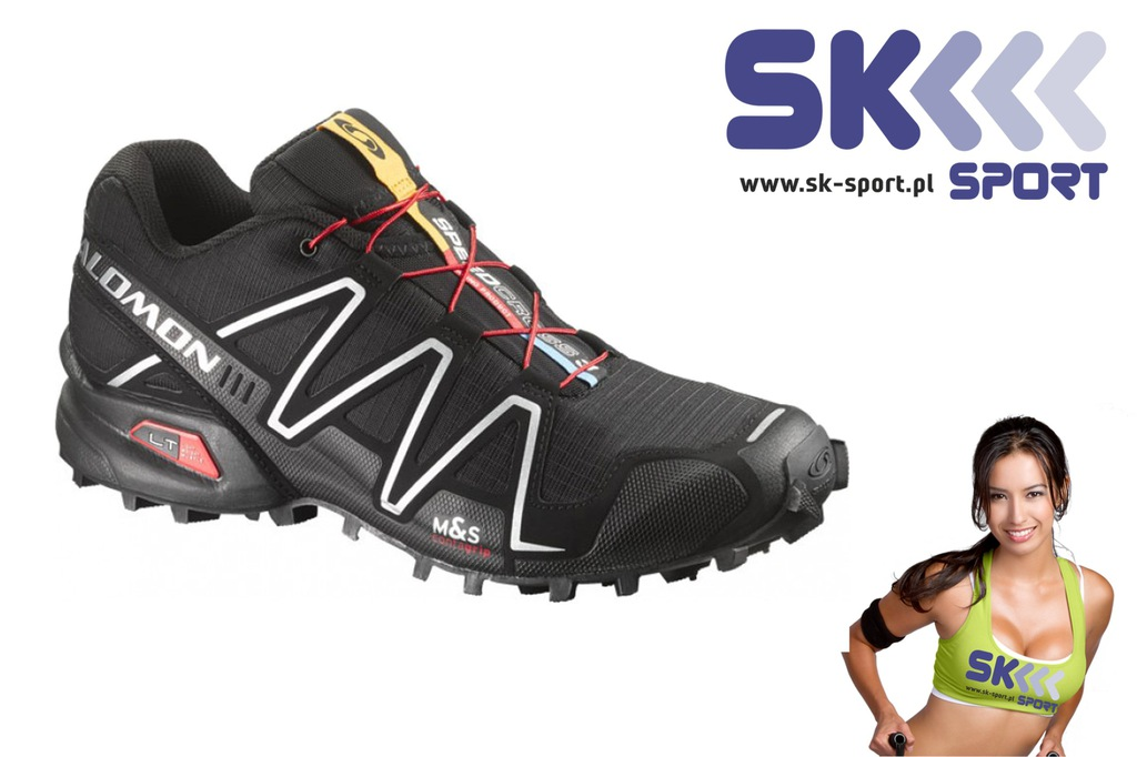 Buty trailowe Salomon Speedcross 3 r 44 23