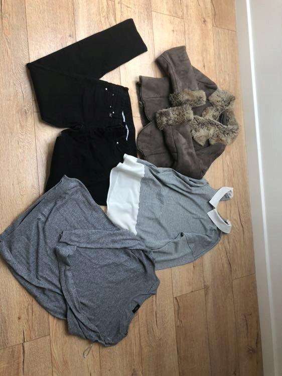 Zestaw ubrań M/ 38 Armani, Ralph Lauren, DKNY
