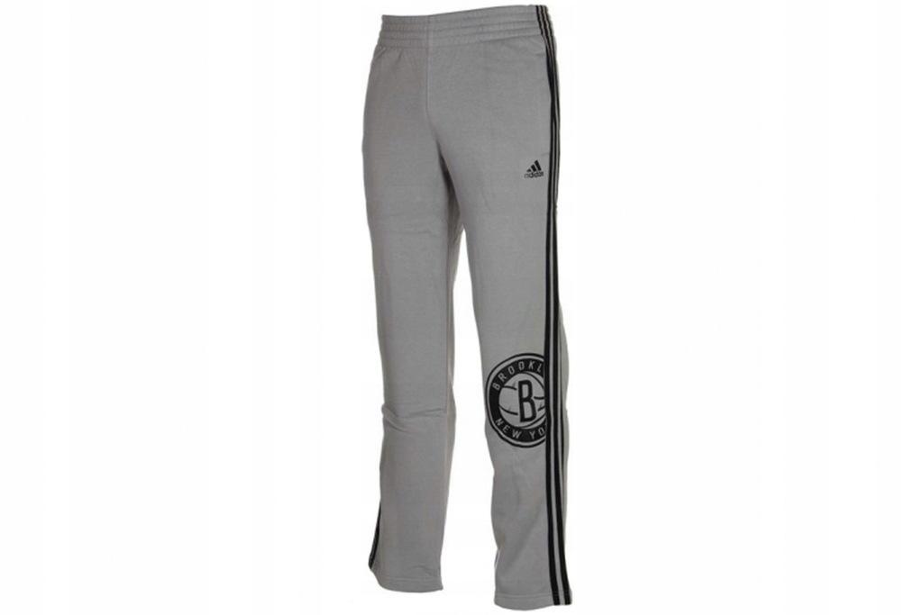 ADIDAS NBA BROOKLYN NETS PANTS (4XL)Męskie Spodnie