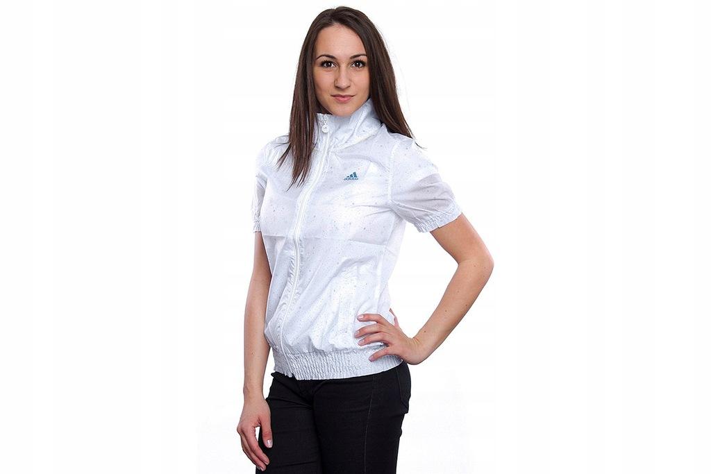 Bluza damska Adidas Performance biała W45218 r. XS