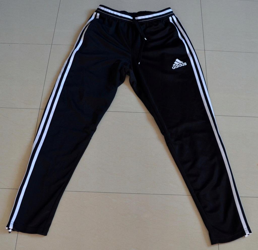Spodnie dresowe ADIDAS młodzieżowe stan idealny M