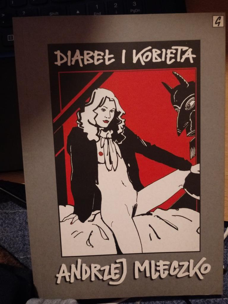 Diabeł i kobieta - Andrzej Mleczko