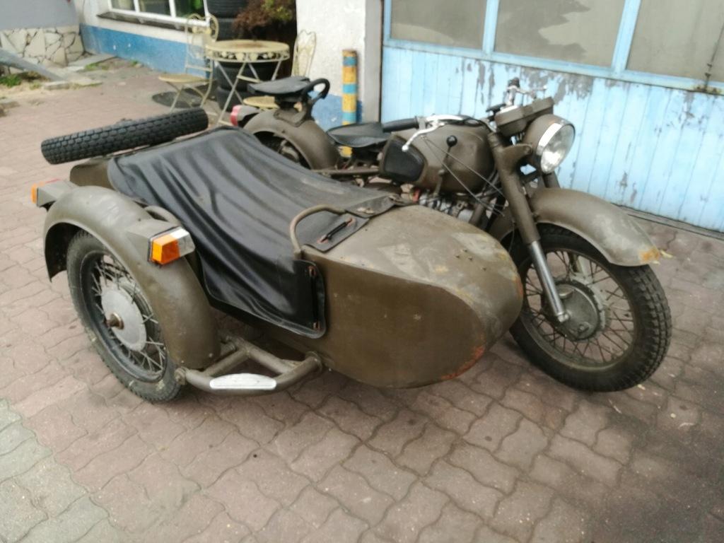 Motocykl Dniepr Ural K 750 Z Koszem Wsteczny Bieg 7563815100 Oficjalne Archiwum Allegro